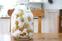 今年の『梅仕事』と『ミナペルホネン』の素敵な刺繍生地♪ - neige+ 手作りのある暮らし