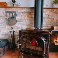 お客様が夏の薪ストーブを可愛く使っていました! - 薪おじさんの気まぐれブログ(四国で薪ストーブ)
