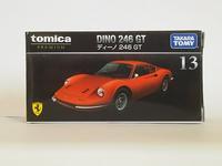 タカラトミー・トミカプレミアムNo.13 ディーノ 246 GT - 燃やせないごみ研究所