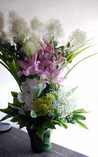 ご葬儀のアレンジメント。西区西野3条の斎場にお届け。2019/06/27。 - 札幌 花屋 meLL flowers