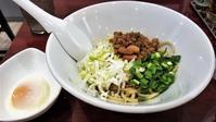 自家製麺 魚担々麺・陳麻婆豆腐 dandan noodles なんばらーめん一座店汁なし担々麺 - 拉麺BLUES