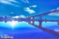 今日は琵琶湖の日 - 夕暮れと蒸気をおいかけて・・・
