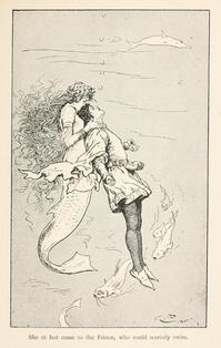 Gordon Browne画の人魚姫 - Books