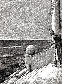 Gustav Arnold Thornam画の人魚姫 - Books