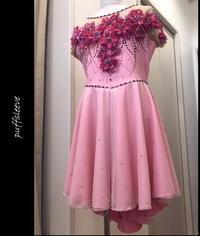 ダンストワリング衣装~flower画像 - puffsleeve
