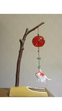 手作りの風鈴台(^^) - ソライロ刺繍