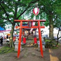 新田稲荷のお祭り - 「 ボ ♪ ボ ♪ 僕らは釣れない中年団 ♪ 」Ver.1