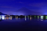 令和元年6月の富士(23)河口湖夜明け前の富士 - 富士への散歩道 ~撮影記~