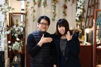 結婚指輪お渡しとブライダルフェア開催中! - 新潟市アクセサリー&マリッジリングstandard-LAMP