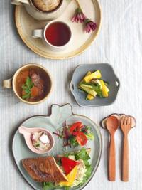 ポテサラサンド朝ごはん - 陶器通販・益子焼 雑貨手作り陶器のサイトショップ 木のねのブログ