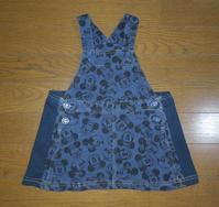 405.ミニーちゃんのオーバーオール - フリルの子供服