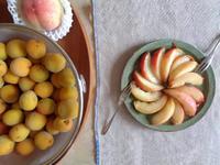 白桃と南高梅 - schizzo schiribizzo schiribillo
