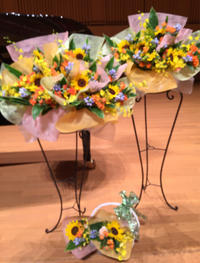 6月、7月は、また発表会。 - お花は幸せの贈りもの~Sweet Lees