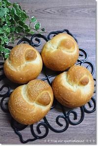最終発酵を冷蔵庫で…風邪ひきワンノット卵パンとファンキー王子 - 素敵な日々ログ+ la vie quotidienne +
