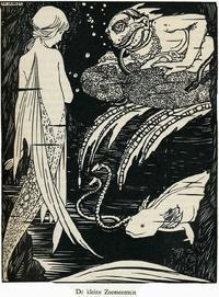 Rie Cramerのモノクロ画の人魚姫 - Books