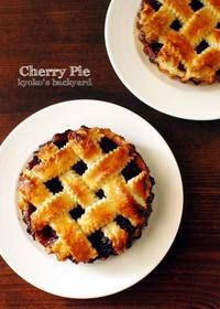 チェリーパイのアイスクリーム添え♪ - Kyoko's Backyard ~アメリカで田舎暮らし~