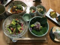 和食を習った翌日は。。 - 来客手帖~ときどき薬膳