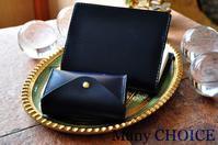 革の宝石ルガトー・2つ折りコインキャッチャー財布とブックカバー - 時を刻む革小物 Many CHOICE~ 使い手と共に生きるタンニン鞣しの革