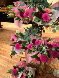 ダリアを使いました!(2019年6月29日の発表会) - お花は幸せの贈りもの~Sweet Lees