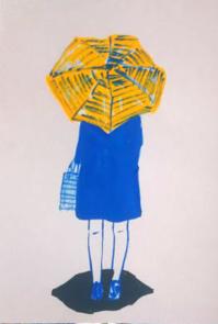晴れ間 - たなかきょおこ-旅する絵描きの絵日記/Kyoko Tanaka Illustrated Diary