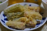 ゴーヤとスパムの天ぷらと麻婆豆腐 - おいしい日記