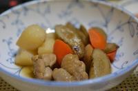 焼き鮭と筑前煮 - おいしい日記