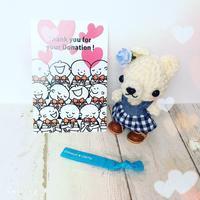 ヘアドネーションの受領証が届きました♪ - Smiling * Photo & Handmade 2 動物のあみぐるみ・レジンアクセサリー・風景写真のポストカード