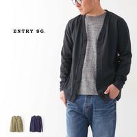ENTRY SG[エントリーセスジー] LEICESTER/レイサー カーディガン[T202VBL] コットンカーディガン、綺麗目MEN'S - refalt blog