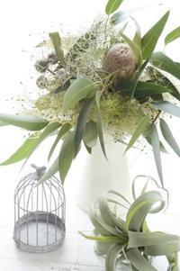 ラッキーを呼び寄せるレッスン - お花に囲まれて