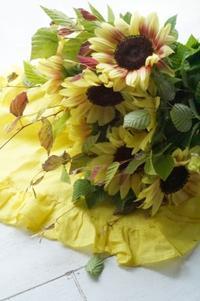 季節のヒマワリ、嫌いを好きに変える! - お花に囲まれて
