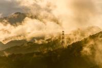 雨上がりの奥武蔵の山々 - デジカメ写真集