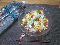 美味しいお水と梅昆布茶で☆七夕そうめん - candy&sarry&・・・2