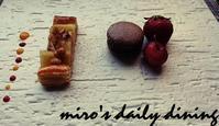 浜木綿デザートプレート - miro's daily dining