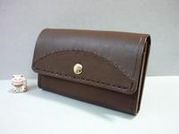 ミニ財布・・「カード・小銭・お札」ちょっとそこまで財布 - 革小物 paddy の作品
