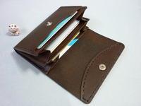 2色・そろう・・【 L字ファスナー・ミニ財布 】 - 革小物 paddy の作品