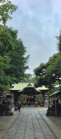 神社巡り『御朱印』菊田神社と大原神社 - ハタ坊(釣り・鳥撮・散歩)