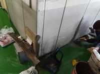 鋳造現場、壁の修理 - 東大阪のダイカスト工場の日々。          by 共栄ダイカスト㈱