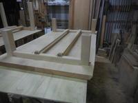 ダイニングテーブル・座卓の - 手作り家具工房の記録