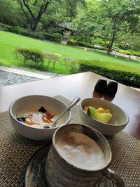 グランドプリンスホテル高輪「花雅」の朝食【ラウンジホッピング】 - お散歩アルバム・・夏空の下で