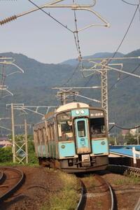 藤田八束の鉄道写真@仕事の後で時間が出来ましたので列車の写真を撮りに行きました・・・青い森鉄道・野内・井筒駅にて - 藤田八束の日記