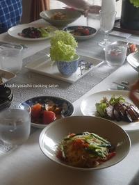 【6・7月レギュラーレッスン/中華でおもてなし】全て終了です - ーAkashi Yasashii Cooking Salonー明石 料理教室/家庭料理・おもてなし料理/テーブルコーディネート/明石/垂水/神戸/加古川