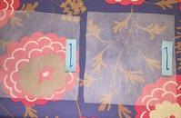 合皮に刺繍の研究 - Atelier Chou
