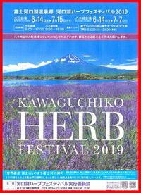令和元年6月の富士(28)河口湖ハーブフェスティバルと富士 - 富士への散歩道 ~撮影記~