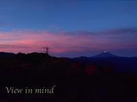 ツツジと富士山ー6月17日 - View in mind