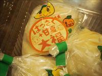 ひろしま屋の「はっさく甘夏大福」 - 人形町からごちそうさま