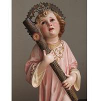 十字架を抱く幼子イエス 42cm  /G024 - Glicinia 古道具店