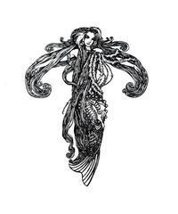 スラミス・ヴュルフィング画の「人魚姫」から - Books