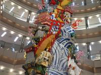 博多山笠の飾り山~イムズと、新天町にて - ミモザアカシアの日々