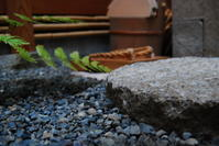 料亭のおもてなし水打ち茶庭 - 懐石椿亭 公式weblog北陸富山の懐石料理屋