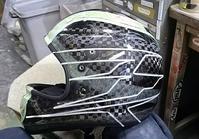 アライヘルメット謹製、競艇用のカーボンヘルメット入庫。その2。 - DRESS OUT  White Blog